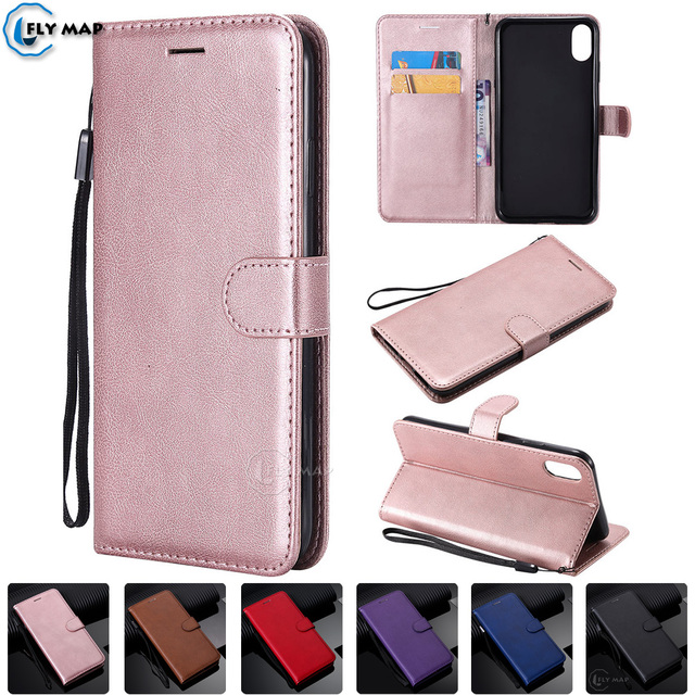 Wallet Case For Apple Iphone Xr Xs Max Flip Phone Leather Cover Capa