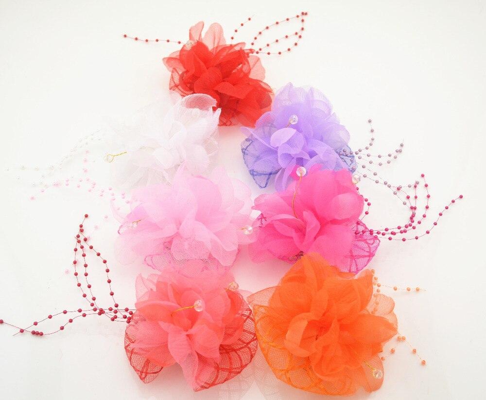 2016 New Beauty Flower Hairpins Children Hair Accessories Girls Rhinestone Hair Barrettes Children Accessories Baby Hair