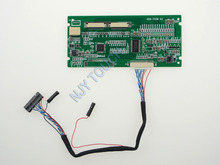 Free shipping LVDS to TTL Converter Board HCR-TCON V3 TCON Board 20 Pin to Dual 30 Pin Convert