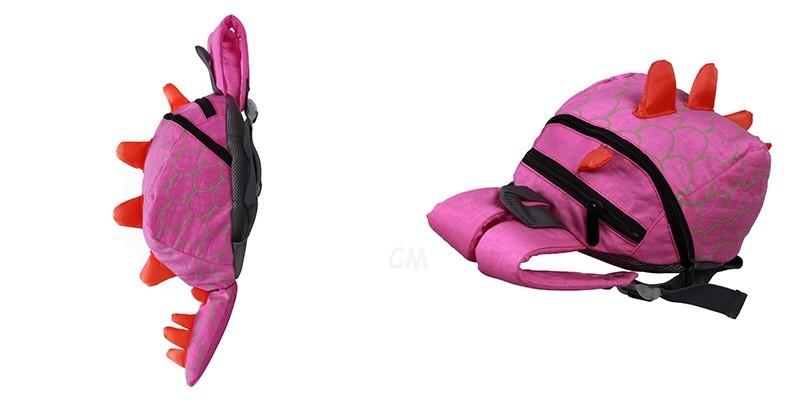 Dinosaur Anti lost backpack for kids Children Backpack aminals Kindergarten School bags for 1-4 years 5