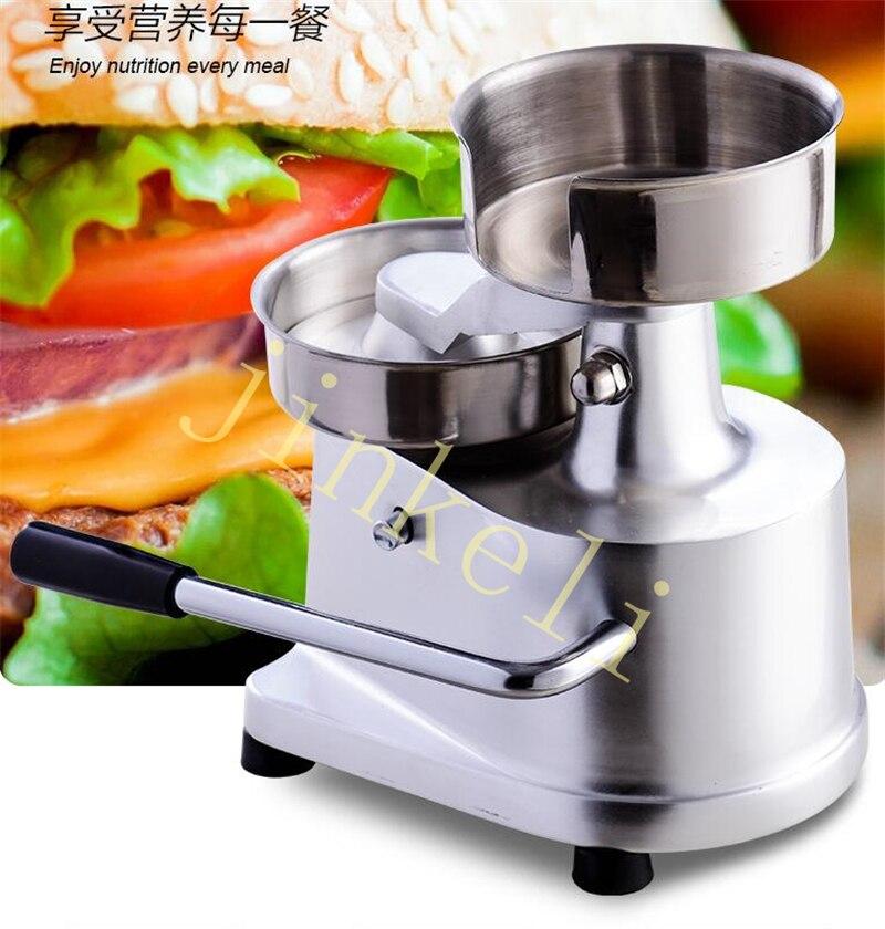 free air ship Manual hamburger Moulding machine 130mm Burger meat pie Pressing machine steak omelet Sandwich patty presser