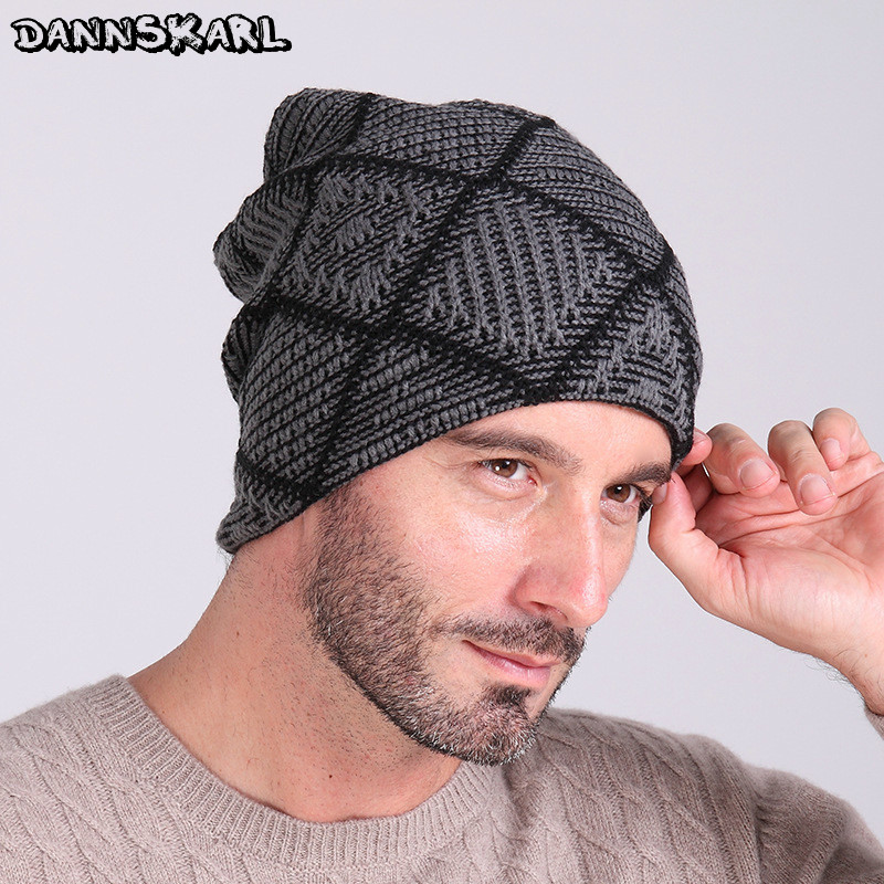 2017 Beanies Knitted Hat Men's Winter Hats For Men Women Caps Skullies Winter Beaine Bonnet Brand Mask Casual Cap Warm Baggy Hat aetrue brand knitted hat winter beanies men caps mask gorras bonnet warm baggy winter hats for men women skullies beanies hats
