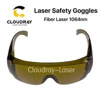 Cloudray 1064nm Protective Goggles Style B Laser Safety Goggles 850 1300nm OD4 CE For Fiber Laser