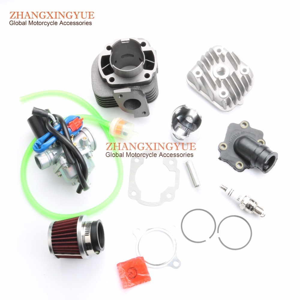 70cc Two Stroke Big Bore Kit with for Minarelli 1E40QMB JOG 50 47mm 12mm