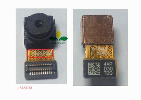 Para lenovo tab 2 a10-70 5.0mp cámara 100% original nuevo módulo de la cámara frontal flex cable libre del envío con número de seguimiento