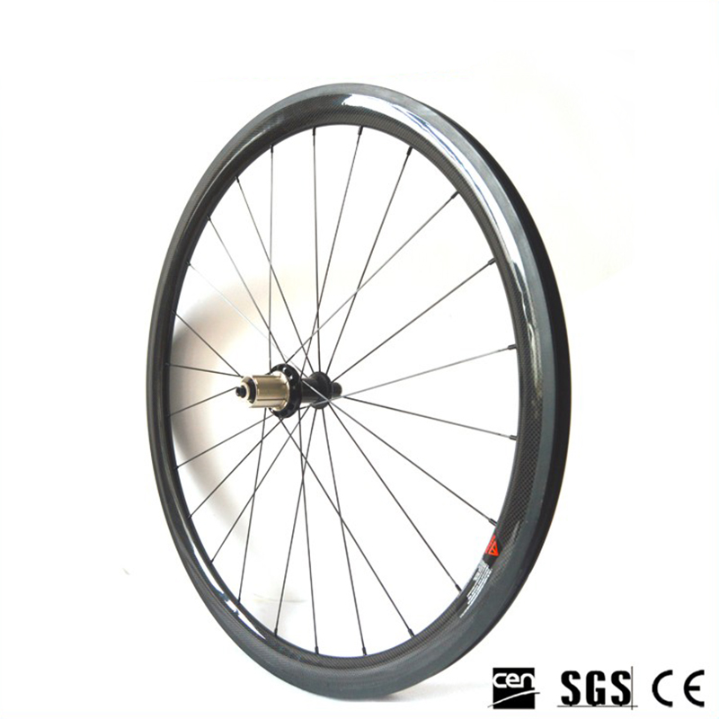 Catazer Superlight  Racing Bicycle wheelset Road Bike powerway R36 Straight pull  Hub 38mm Depth Profile Clincher Carbon wheels 1350g 38mm clincher straight pull racing road bike carbon wheels bicycle carbon wheelset for r36 hub