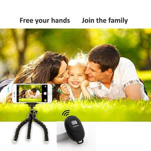 Image 5 - Selfie Ring Light with Wireless Remote Tripod for YouTube Makeup Mini Led Camera Ringlight Phone Clip Huawei Mate 30 Lite