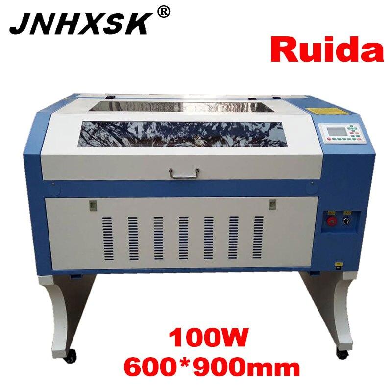 Laser 100W laser engraving 6090/9060 Ruida 6442S 110/220V Co2 Laser Engraver machine Plywood laser cutter machine