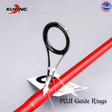 KUYING VITAMIN SEA 1 Section 2.04m Carbon Spinning Casting Lure Slow Jigging Fishing Rod Stick Cane FUJI Rotate Helical Rings