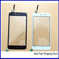Original New Touch Screen For Fly FS505 FS 505 Front Glass Outer Lens Digitizer Sensor Glass Touch Panel, Black/White