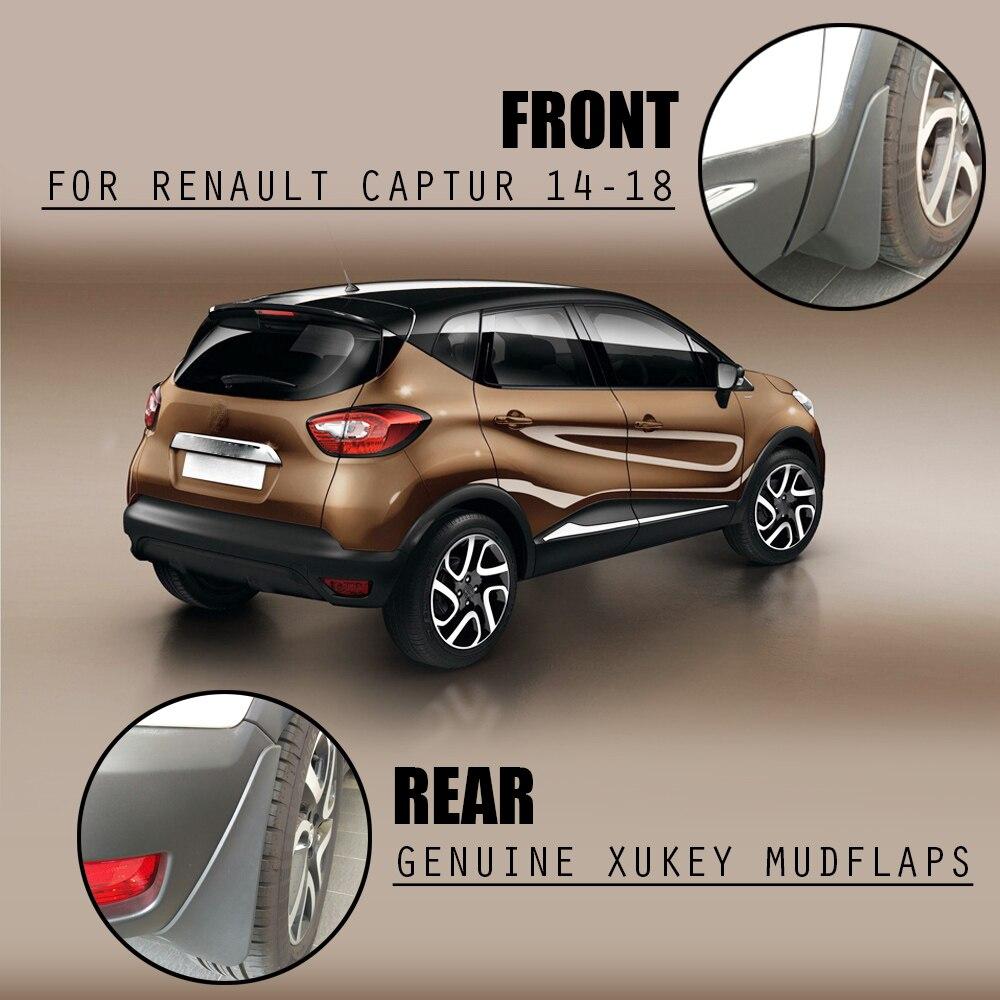 Car Mudflaps For Renault Captur 2013 2019 Mud Flaps Splash Guards