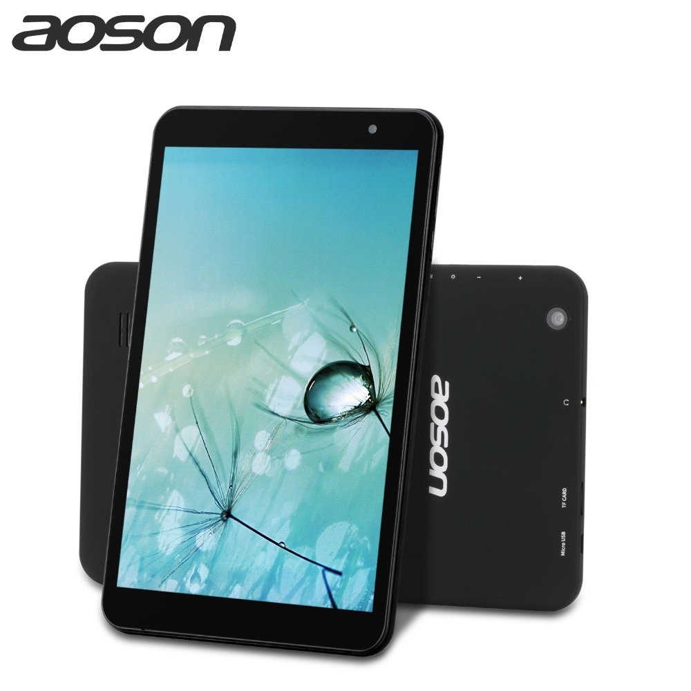 Heißer Aoson Android 7.0 Tabletten 8 zoll Quad Core Dual WIFI 5G/2,4G M815 IPS 1280x800 2 GB + 32 GB HDMI GPS Bluetooth Tablet PC