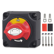 Universal 12V 24V Car Battery Isolator Master Cut Off Power Switch Waterproof Marine Car Boat Battery Disconnect Terminal Auto kh 12v 24v 200a battery isolator car relays 4 terminal dual battery switch dc relay on off car automotive power control switches