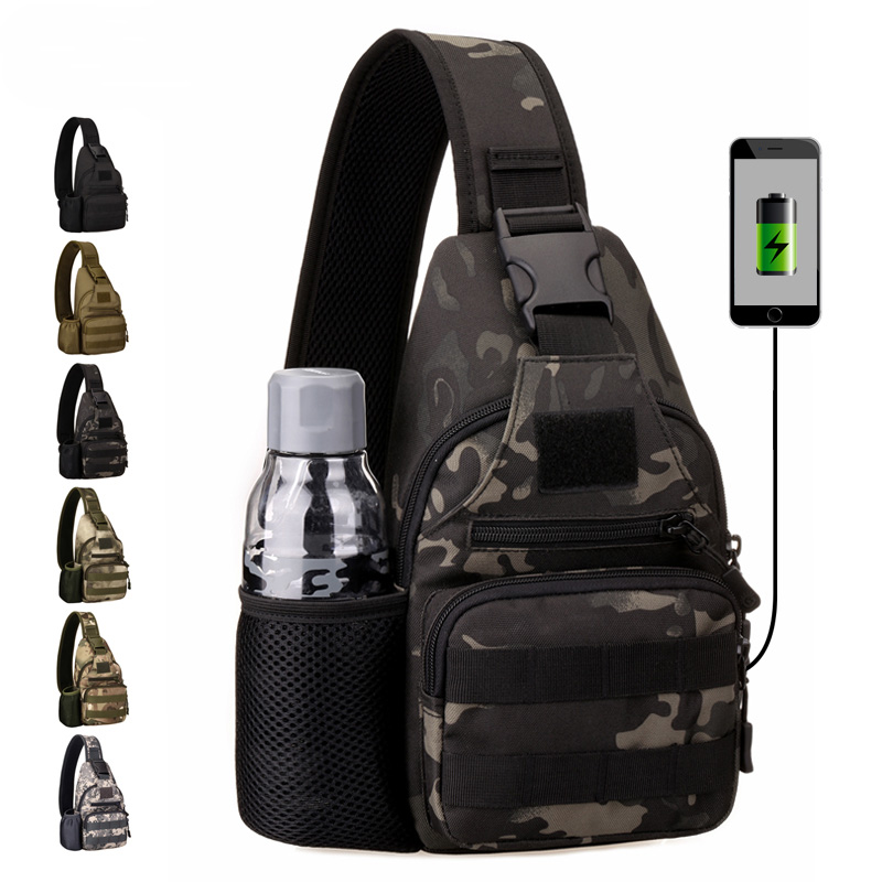 Climbing Bags Latest Collection Of By Dhl Or Ems 50pcs Nylon Military Tactical Travel Hiking Riding Cross Body Messenger Shoulder Backpack Chest Waterproof Bag Camping & Hiking
