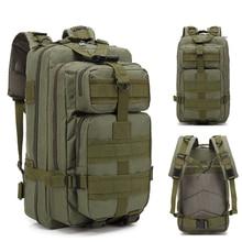 7004df711d8 ¡Oferta! mochila táctica 3 p militar al aire libre para hombres, mochila de