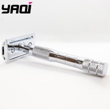 Yaqi Chrome Color Wet Shaving Double Edge Safety Razor Gift цена