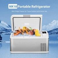 18L автомобильный холодильник морозильник автомобильный холодильник Компрессор для пикника Холодильный морозильник Низкошумный USB порт дл