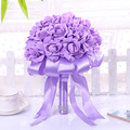 Buque De Noiva 2016 Romantic Sweet Artificial Rose Birdal Bouquet Wedding Bouquets for Bridesmaids Flower Girl Ramos De Novia