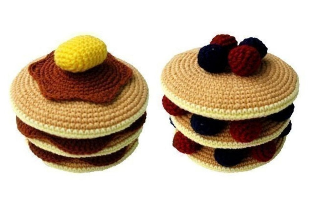armigurumi crochet rattle toys  play food   model number 15744armigurumi crochet rattle toys  play food   model number 15744