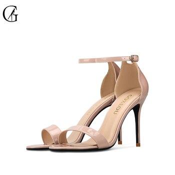 De Goxeou 46tacón Fino Mujer Talla 32 Tacones Sandalias 2019 Nuevas lkZTwXiuOP