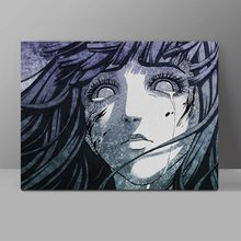 Crying Hyuga Hinata Naruto Canvas Anime Painting Wall Pictures Office HD Print Hanging