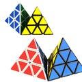 Pirámide Cubo Mágico Puzzle Velocidad Cubos de Aprendizaje de Educación Juguetes Adultos Niños