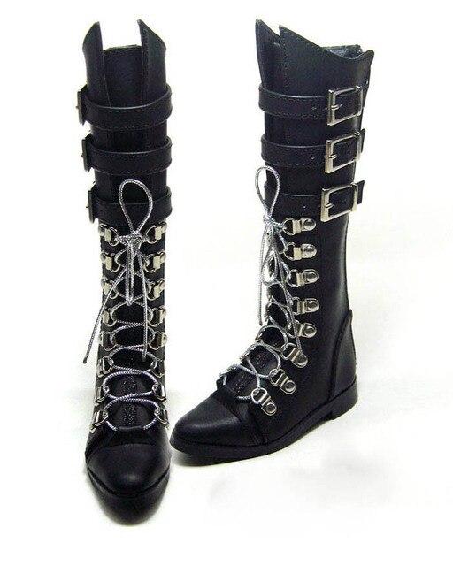 70 CM 1/3 erkek çocuk SD AOD KÖPEK BJD MSD Dollfie Sentetik Deri PU botları Ayakkabı siyah kahverengi ayakkabı YG306