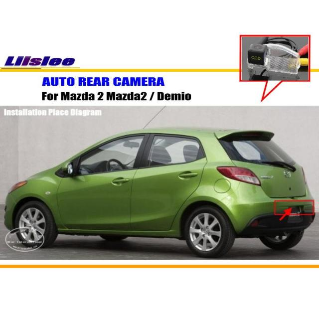 Liislee Car Rear View Camera For Mazda 2 Mazda2    Demio