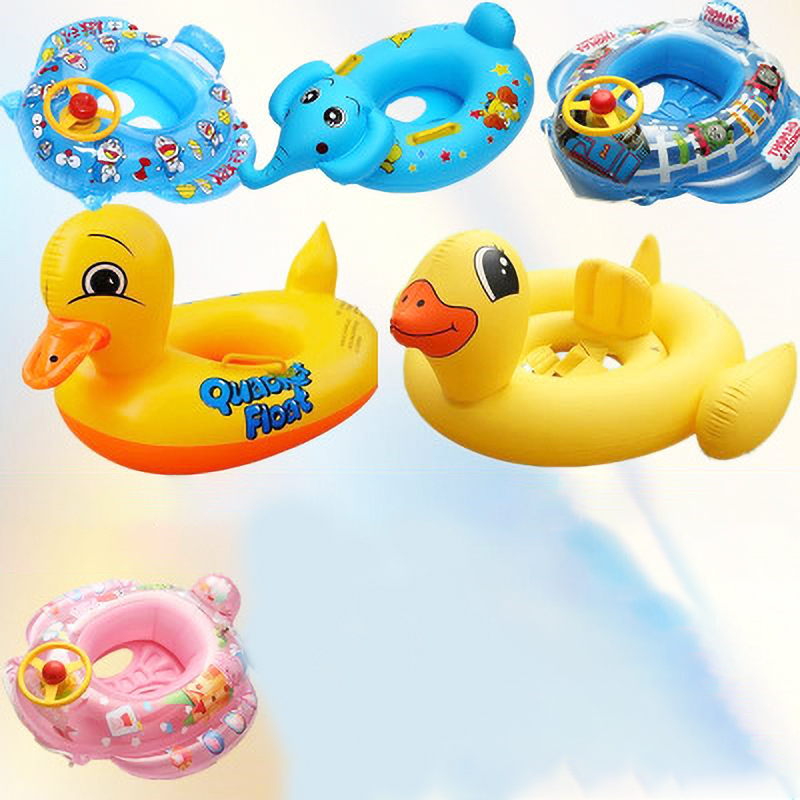 Thickening Airbag Children's Animal Inflatable Riding Float Swimming Ring Children's Water Toys