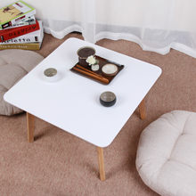 Cafe Tables Cafe Furniture home Furniture solid Wood table coffee table basse minimalist desk mesas de centro sehpa 51*51*31CM(China)