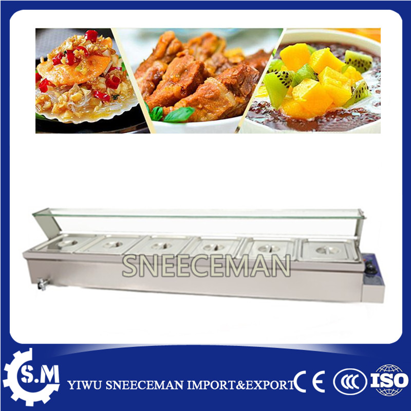 Electric Bain Marie Food Warmer Big Commercial Returant Catering Equipment
