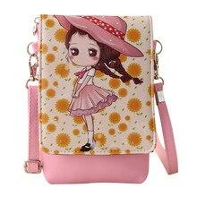 Детские сумки через плечо, Детская сумка-мессенджер для девочек, мультяшная Сумочка с принцессой, мини-сумка из искусственной кожи, сумки через плечо для детей# T20
