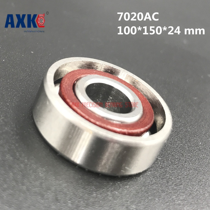High quality 1 piece of 7020 7020CD/P4 100*150*24 mm Angular Contact Bearings Spindle Bearings CNC Boutique Rodamientos
