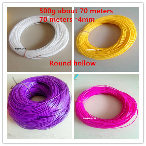 Round hollow 500g about 70 meters: synthetic rattan weaving material plastic rattan for chair table, tavolo rattanRound hollow 500g about 70 meters: synthetic rattan weaving material plastic rattan for chair table, tavolo rattan