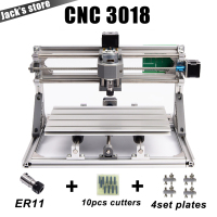 CNC 3018 Laser Options With ER11 Diy Cnc Engraving Machine Pcb Milling Machine Wood Carving Machine