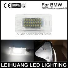 1 pcs Branco Livre de Erros Luz Da Placa de Licença LEVOU Luz Área de Carga Tronco apto Para BMW 3 5 6 7 série X1 X5