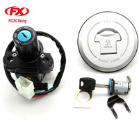 Motorcycle Ignition Switch Lock Fuel Gas Cap Lock And Seat Lock With Keys For Honda CBR 600RR CBR 600 RR 2003 2006 03 04 05 06