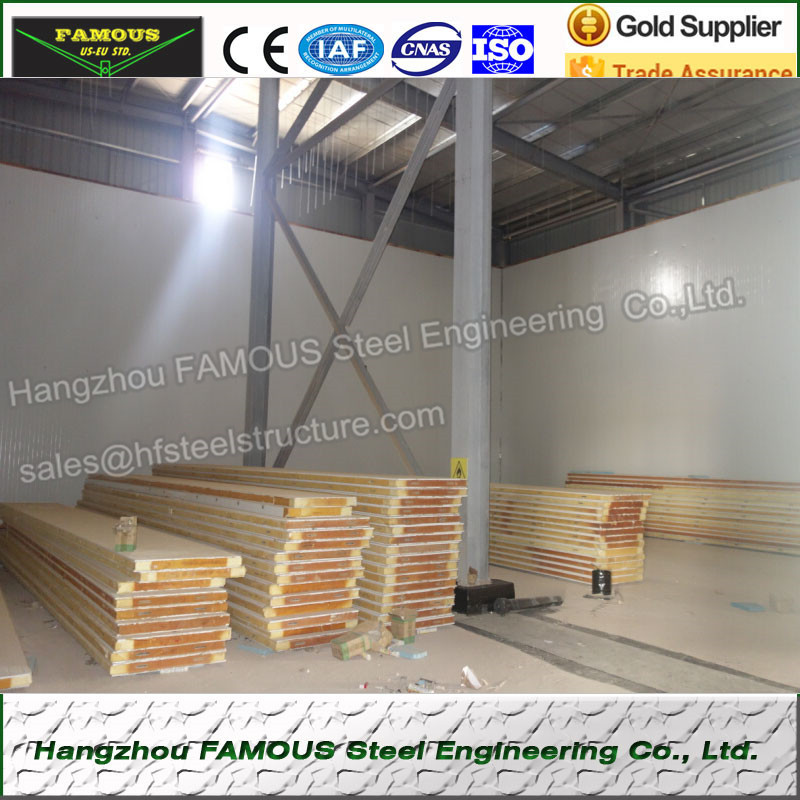 Insulated Metal Wall Roof Panel Systems Cold Storage