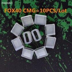 Protector bucal Fox 40, 10 unids/lote protector bucal profesional de alta calidad, PAIDIAO CMG para silbato Fox40