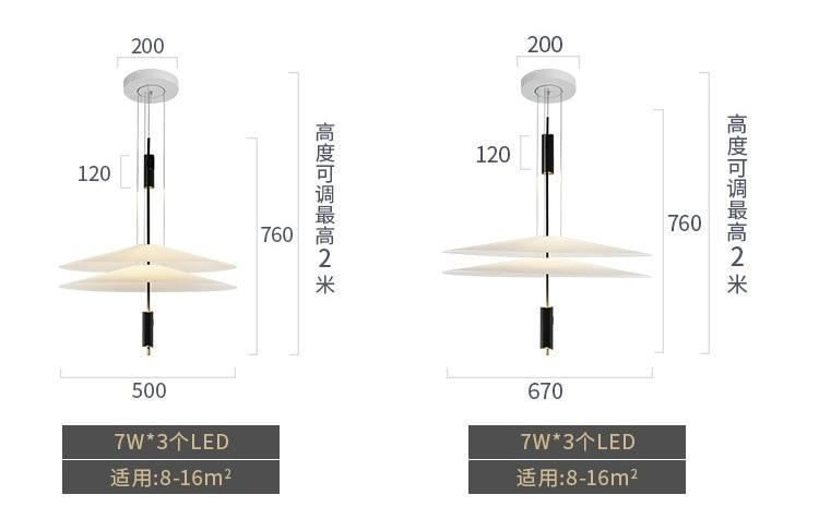 HTB1BLlUek9E3KVjSZFGq6A19XXaD - Modern Acrylic LED Pendant Light Shadow Dining Room Kitchen Light Designer Hanging Lamps Indoor Lighting