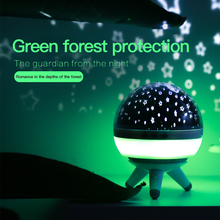 JXSFLYE Stars Starry Sky LED Night Light Projector Moon Lamp Battery USB Kids Gifts Children Bedroom Lamp Projection Lamp цены