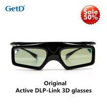 Новое активное DLP соединение 3D очки совместимы с Optama/acer/BenQ/ViewSonic/Sharp/Dell очки-проектор