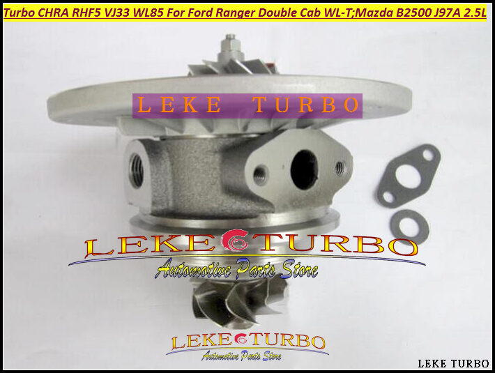 Turbo Cartridge CHRA RHF5 VJ33 WL85 8971228843 Turbo Turbocharger For FORD Ranger For Mazda Bravo B2500 99- WL-T J97A 2.5L 115HP