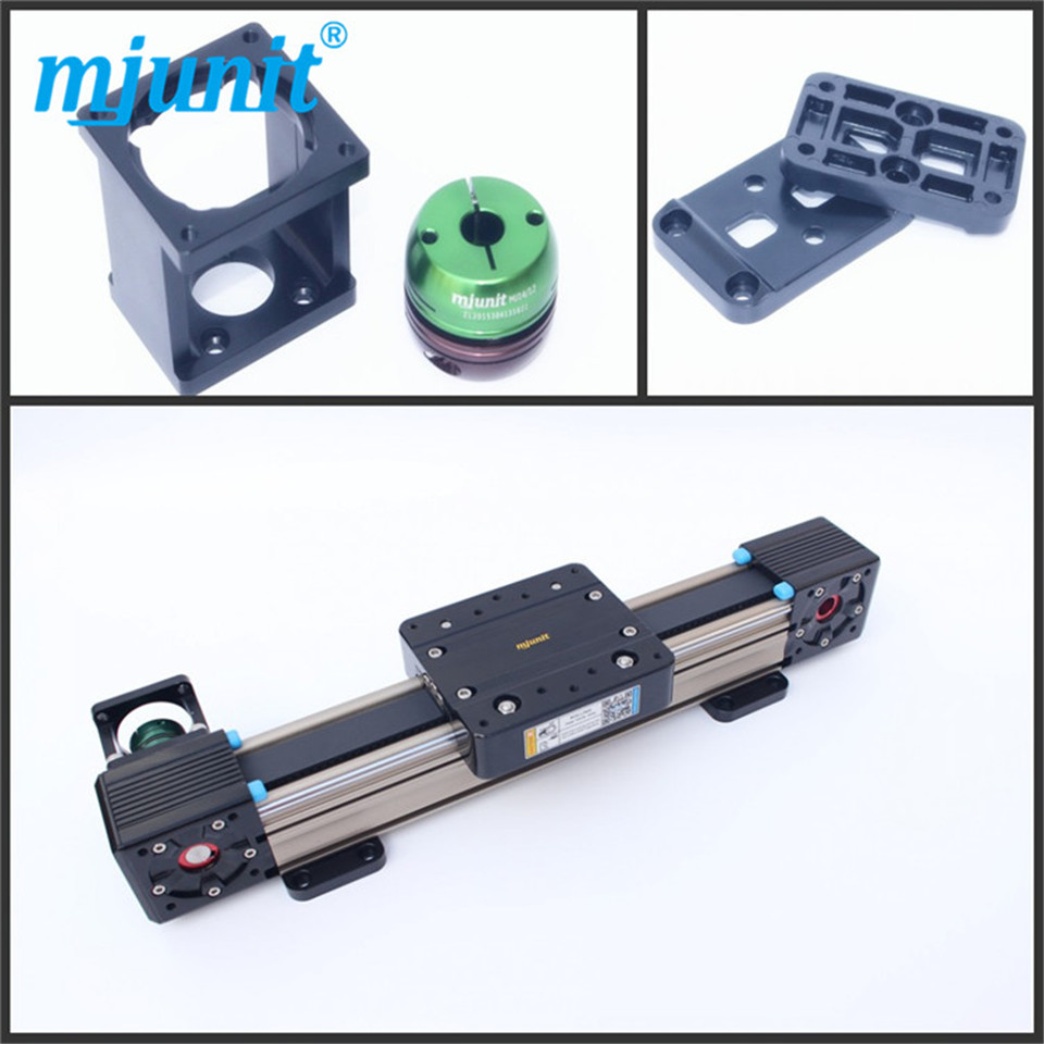 made in china High rigidity bearing Type belt drive linear rail cnc router machine linear rail high rigidity roller type wheel linear rail smooth motion belt drive guide guideway manufacturer