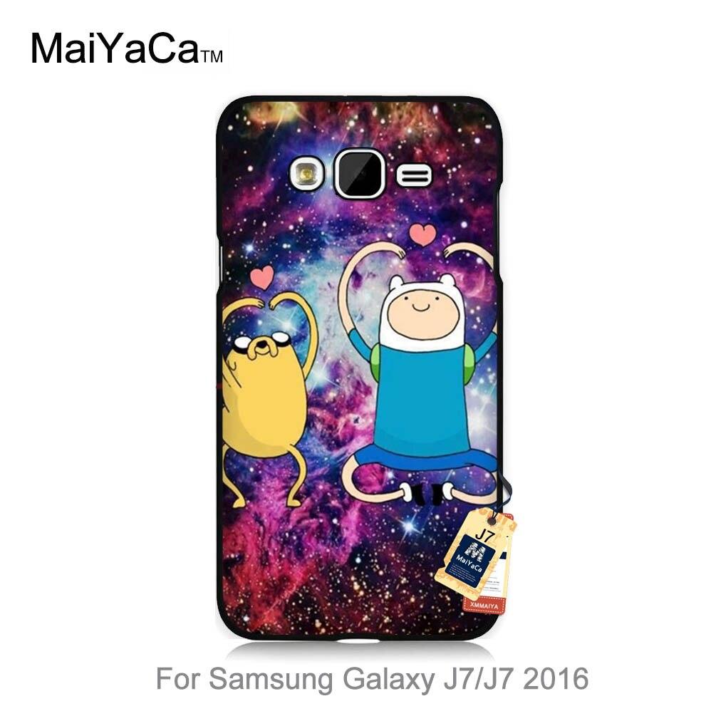 Maiyaca Защитные Жесткий Чехол для мобильного телефона Samsung Galaxy чехол J1 J3 J5 J7 2016 2015 Best друзей Приключения время Дизайн