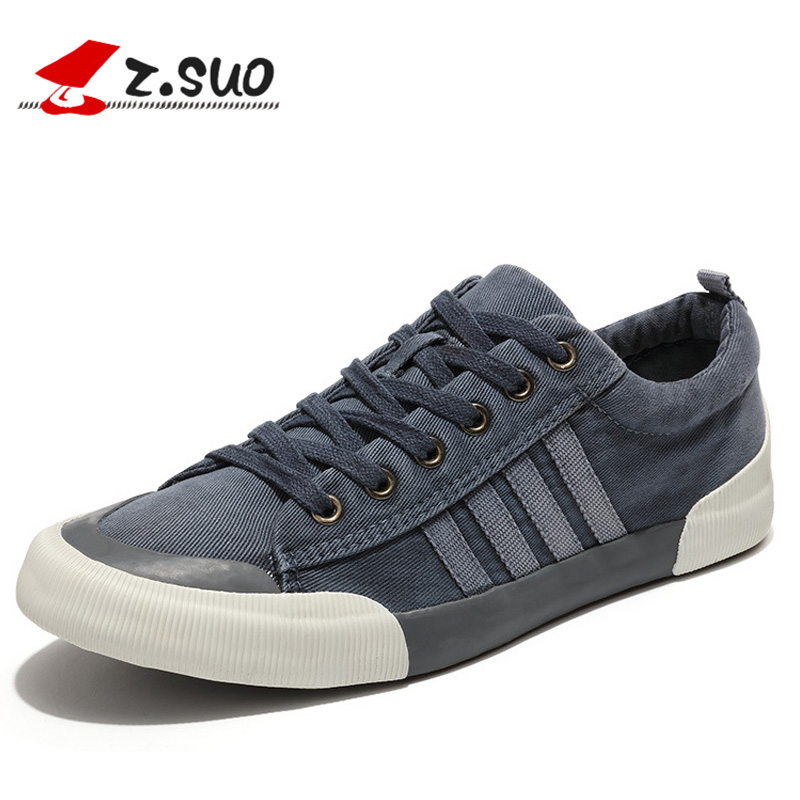 2018 New Spring Classic Men Canvas Shoes Comfortable Lace-up Mens Shoes Casual Flat Shoes Fashion Breathable Wear-resistant Shoe mycolen 2018 new spring autumn classic men casual shoes comfortable flat shoes fashion breathable wear resistant shoes