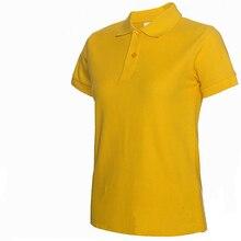 482338d5301 2019 Summer Fashion Polo Shirt Women New Casual Short Sleeve Slim Polos  Mujer Shirts Tops Plus