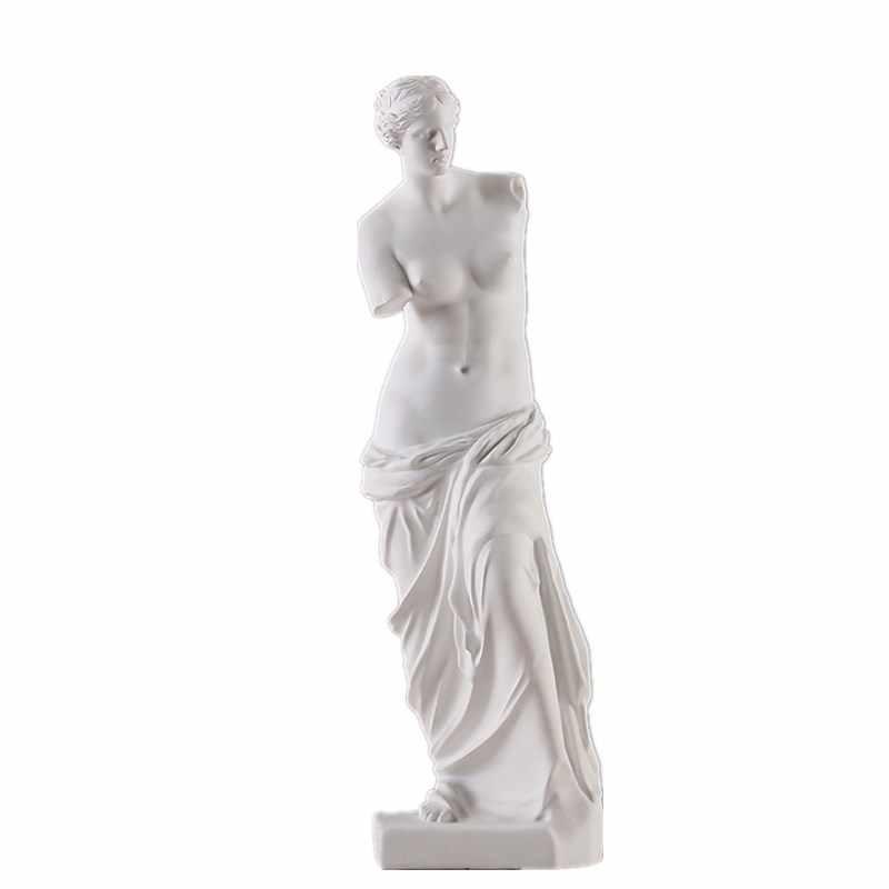Telanjang Venus De Milo Aphrodite Dewi Helenistik Patung Reproduksi Resin ART & Craft Non-Gypsum Patung Gypsum Sketsa R893