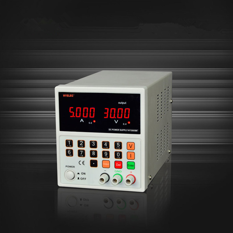 HY 3005MT DC Digital Control Power Supply CNC with LED Indicators Adjustable  for Laptop Mobilephone Repair Free Shipping cps 6011 60v 11a digital adjustable dc power supply laboratory power supply cps6011