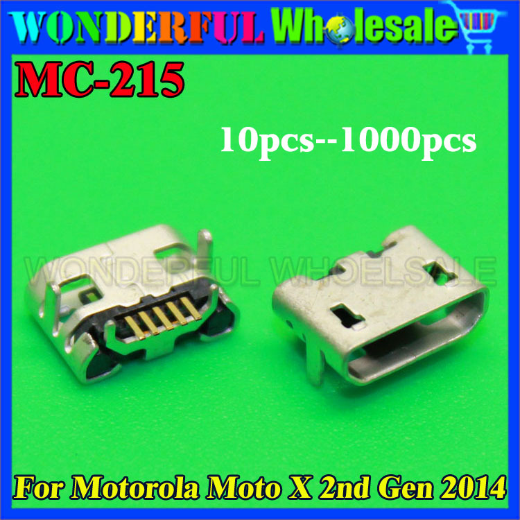 New For Motorola Moto X 2nd Gen 2014 Micro USB Charging Jack Socket Connector Port